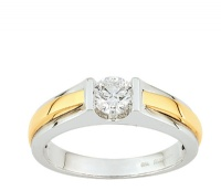 Bague en Or Solitaire Diamant