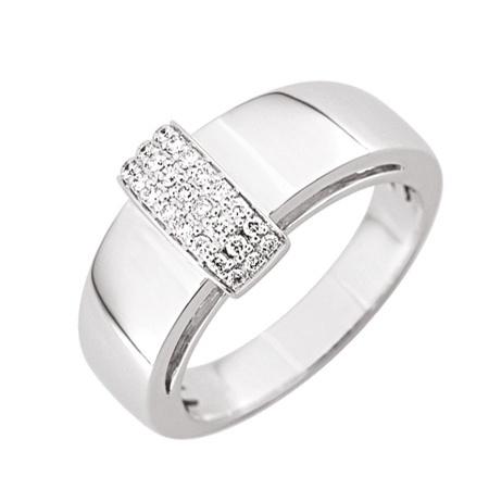 modele bague diamant moderne